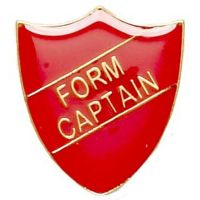 ShieldBadge Form Captain Red</br>SB016R
